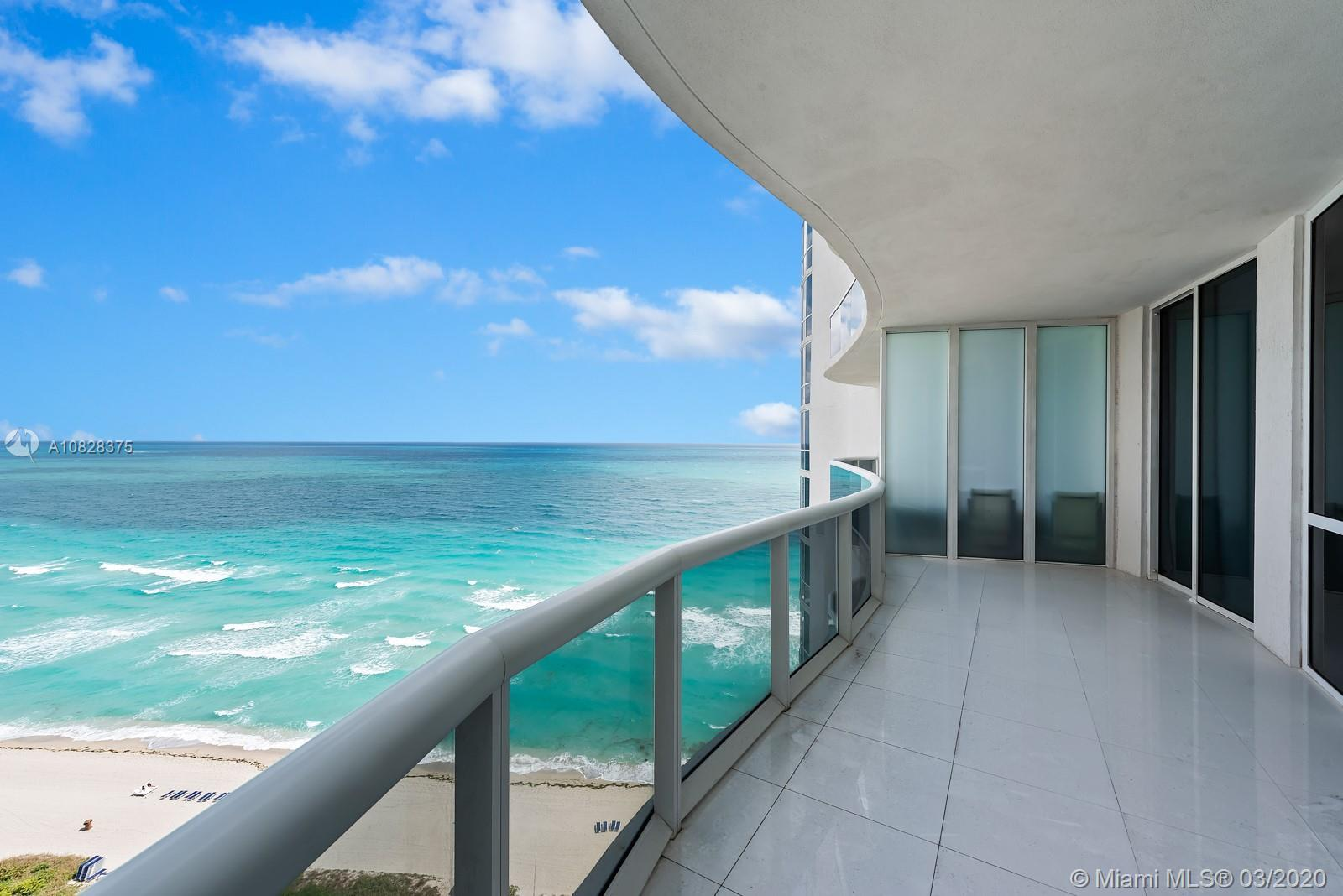 Spectacular 3Bedroom/ 3Bathroom residence with unobstructed direct ocean views, featuring marble flo