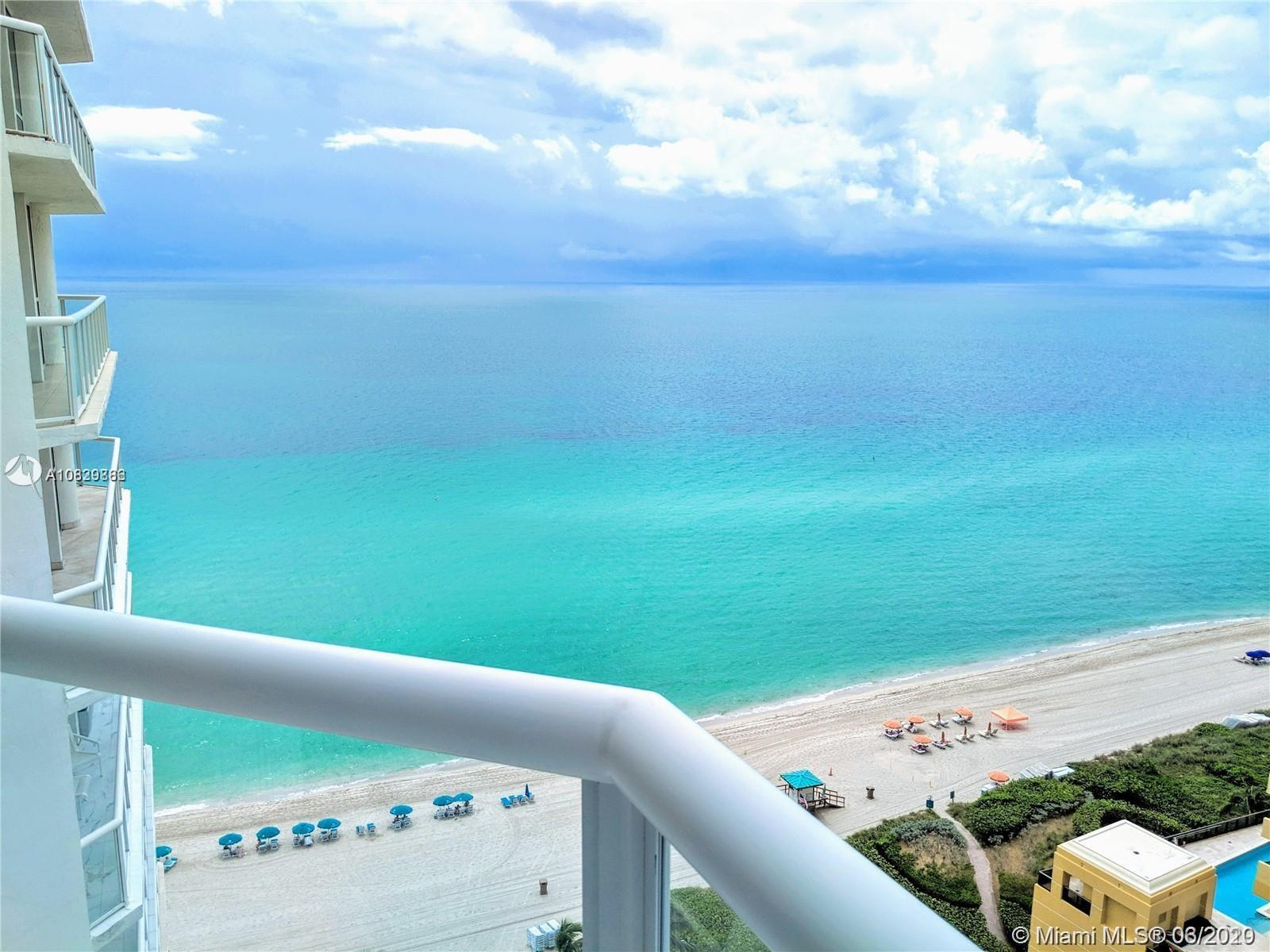 Spectacular SE Ocean views from the uniquely and tastefully remodeled beach condo that comes fully f