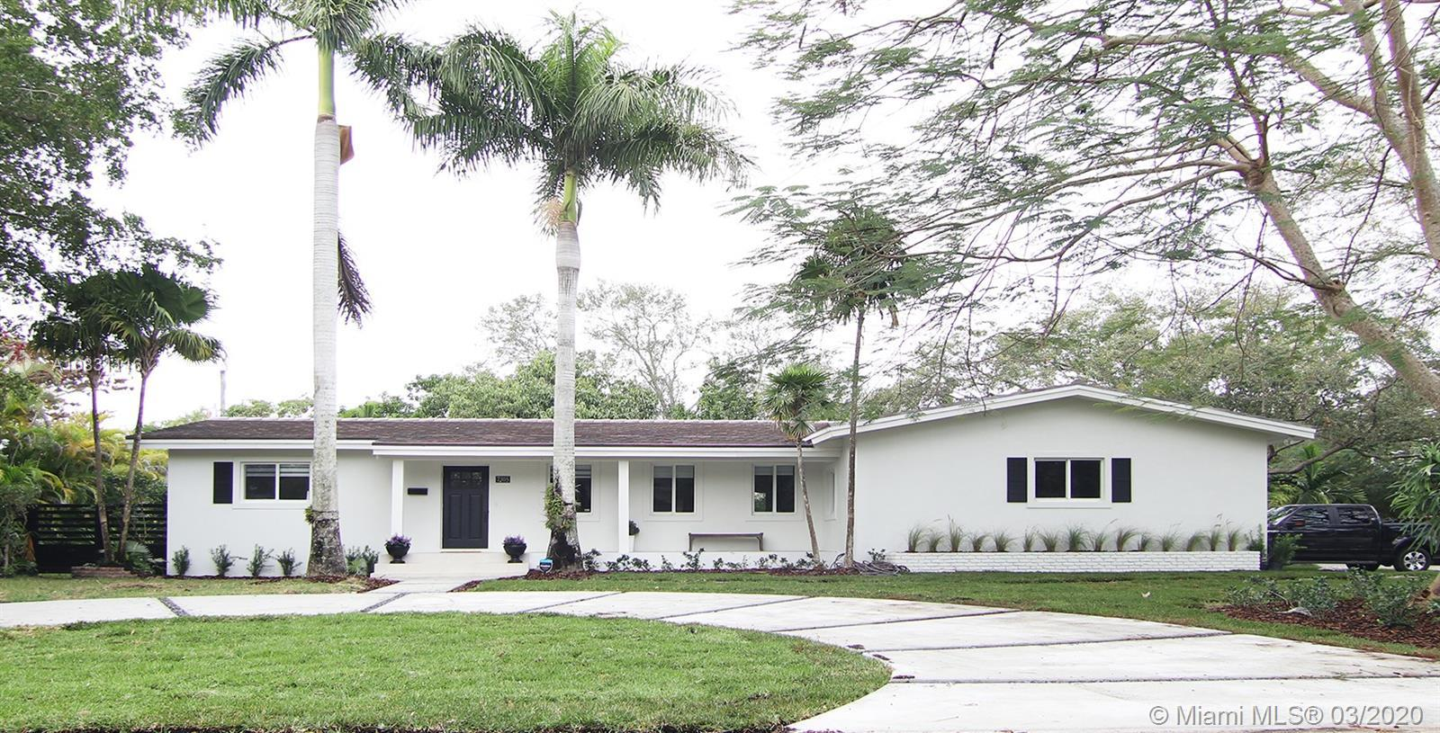 This gorgeous remodeled 4/2 pool home offers a split floor plan with an open layout. As you step in