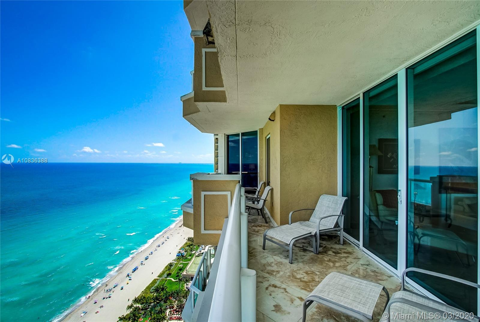 Prime 01 line at Acqualina Ocean Residences. 34th floor corner flow through residence with direct oc