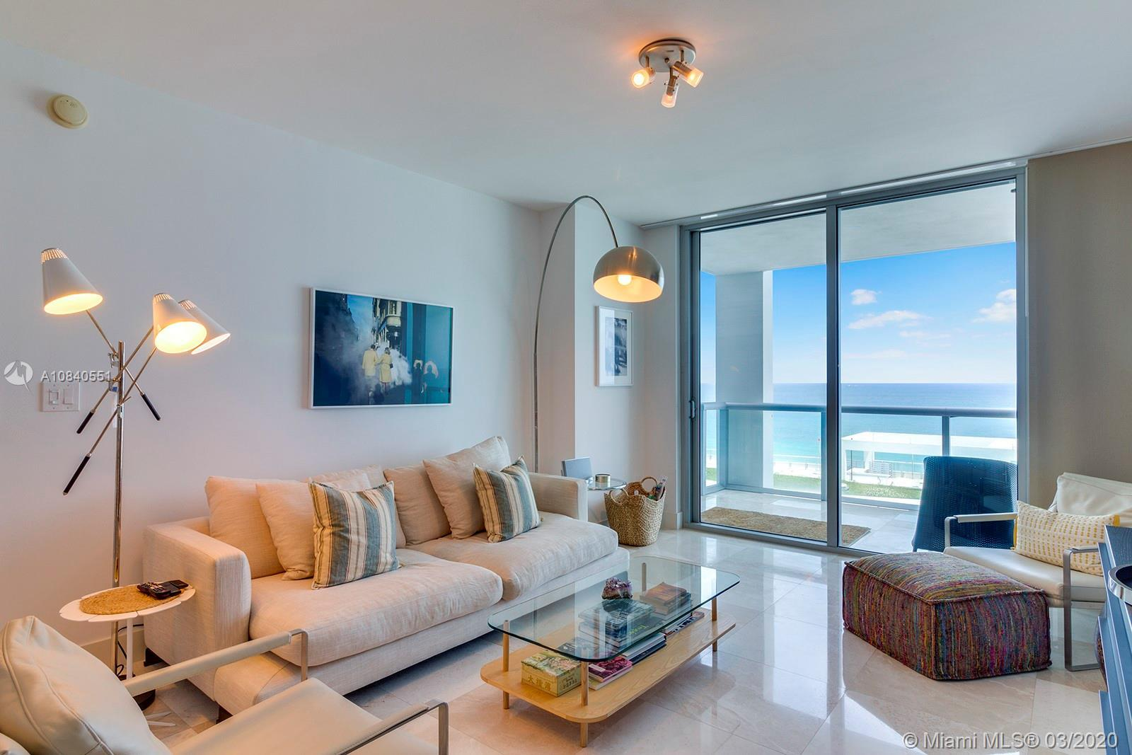 Beautiful 2 bed/ 2 bath. Split floor plan features DIRECT OCEAN views from all rooms, Sub-Zero and M