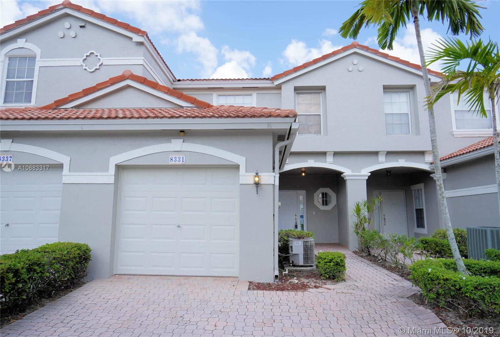 Location! Location! Location,! . Big 3 Bedroom 2.5 Baths and a One Car Garage.Beautiful Paved  Front