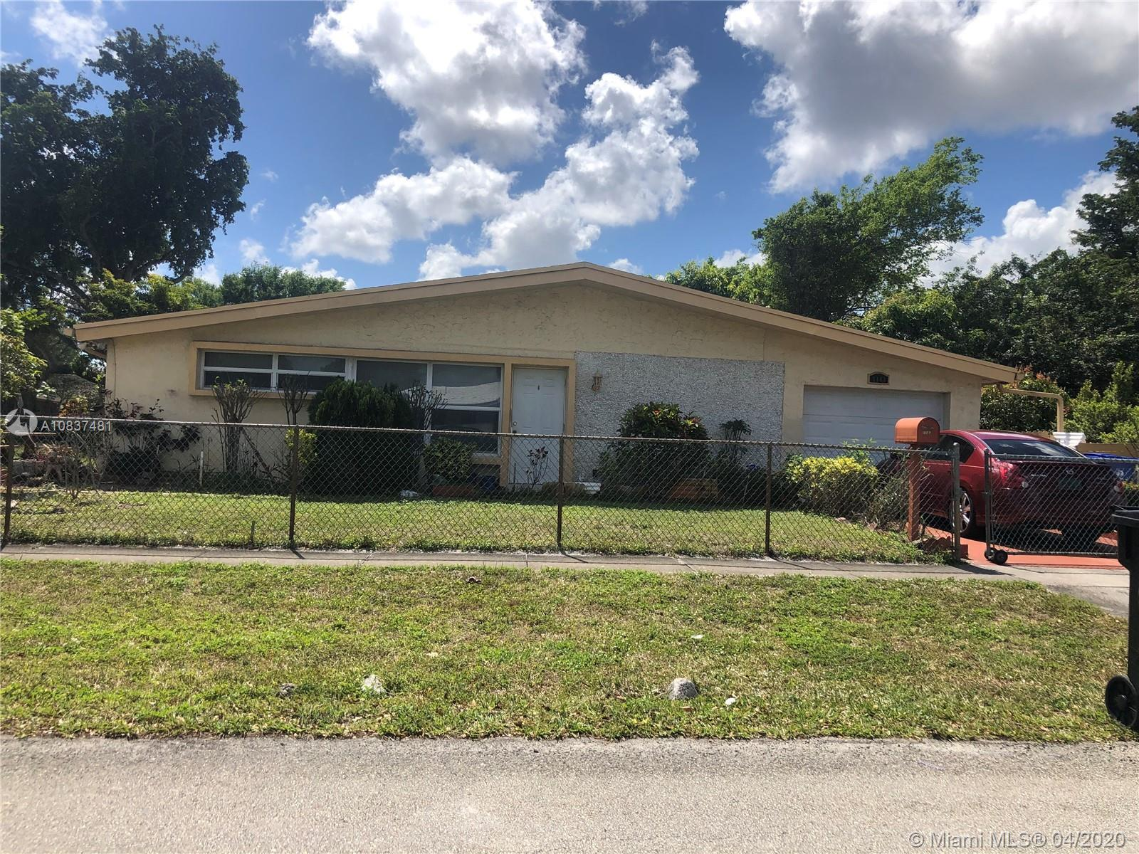 This lovely 3 bedroom 2 Bath home sits on huge corner lot with free tree and fence yard.  Bonus room