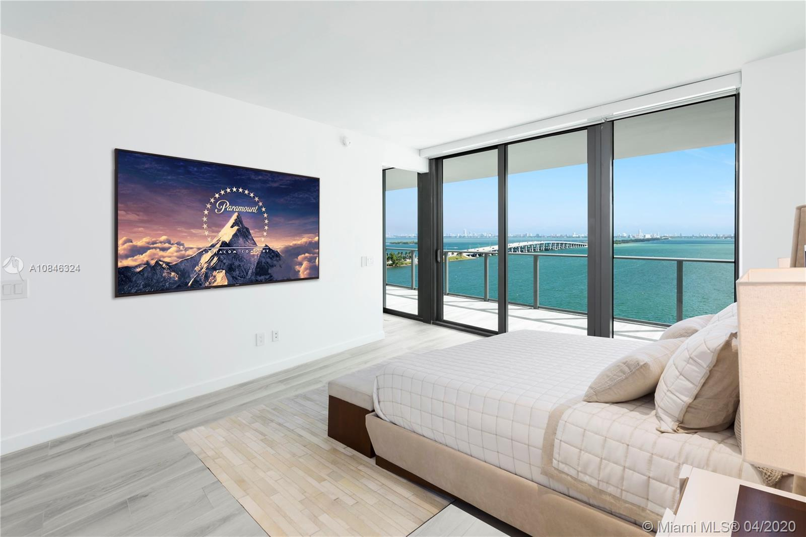 This never before lived-in 3 BD + Den/ 3.5 BA residence at the luxurious One Paraiso tower, designed