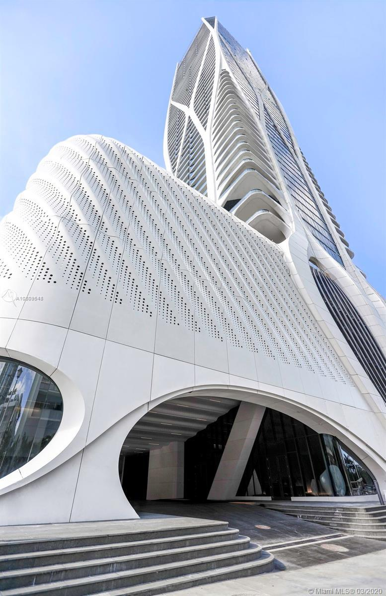 One Thousand Museum by Zaha Hadid, Miami most prestigious new residential tower pushes the limits of