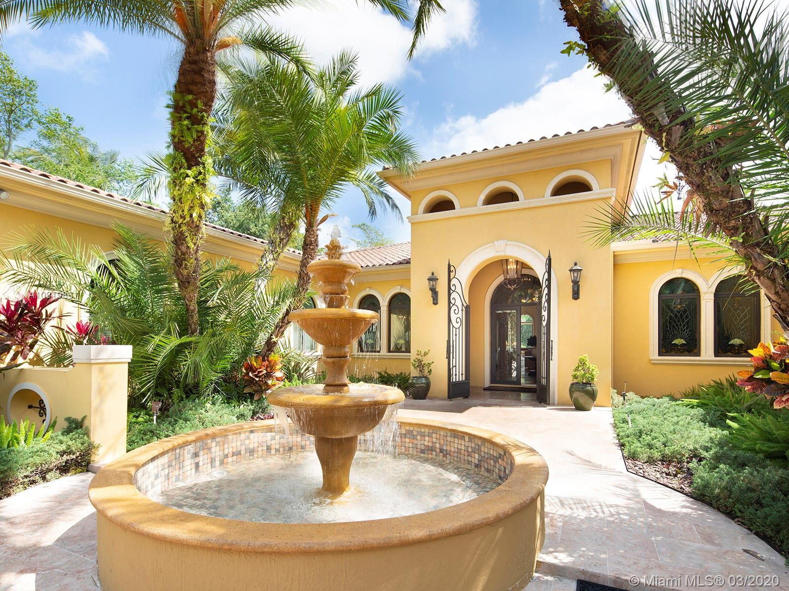 Impressive and stately masterpiece on gorgeous deep acre on desirable quiet & pretty N. Pinecrest! E
