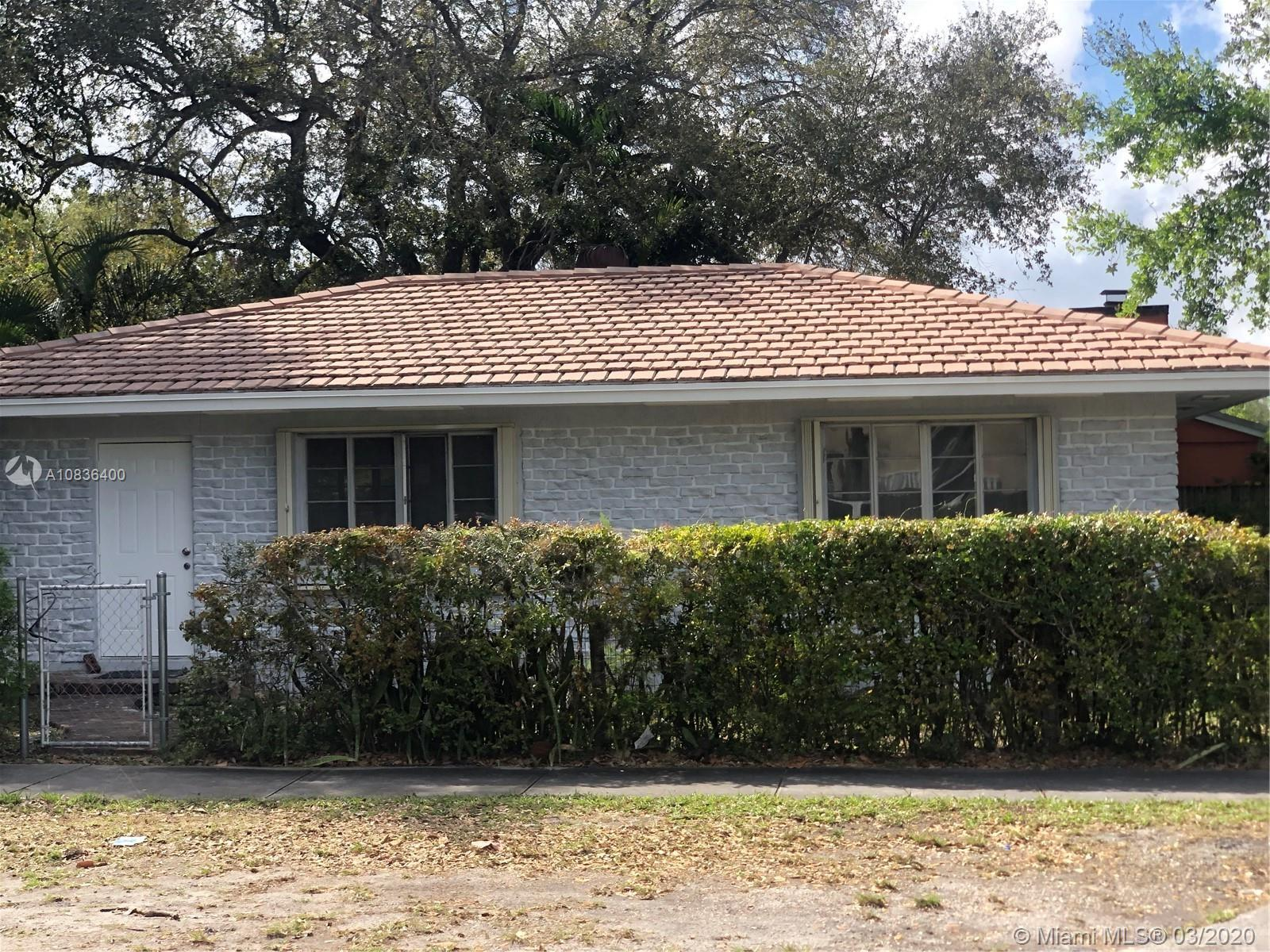 Perfect Starter home in Miami Shores. This property features completely REMODELED KITCHEN with brand