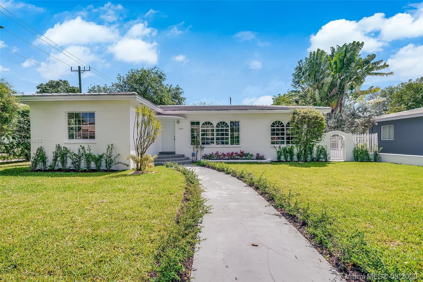 UPDATES THROUGHOUT! Stunning 4 bedroom 3 bathroom home in the heart of Miami Shores. The kitchen boa