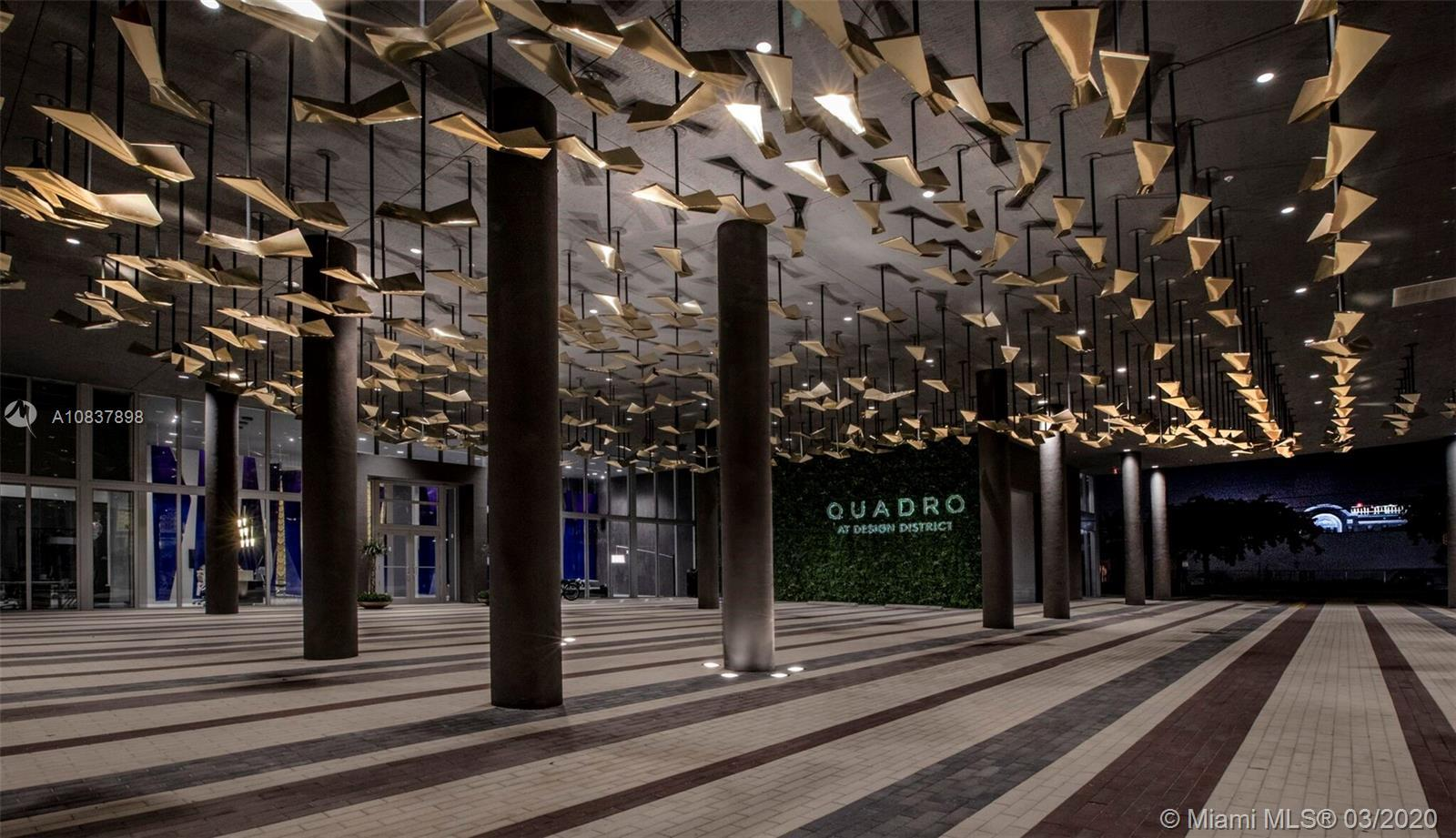 Quadro at Miami Design District is a newly completed, full service, turn-key development located in