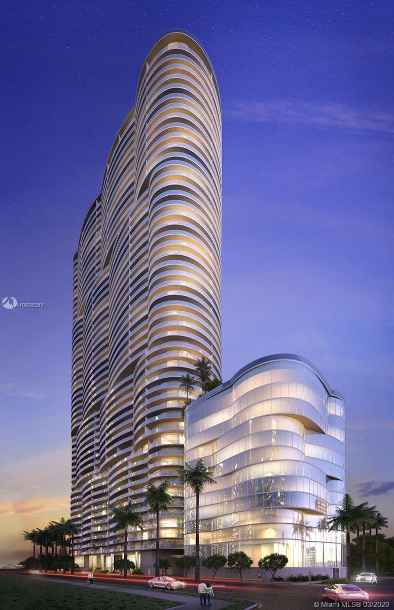 Aria on the bay. luxurious 3/4 residence located on the 43rd Floor. Unit has an  expansive balcony o