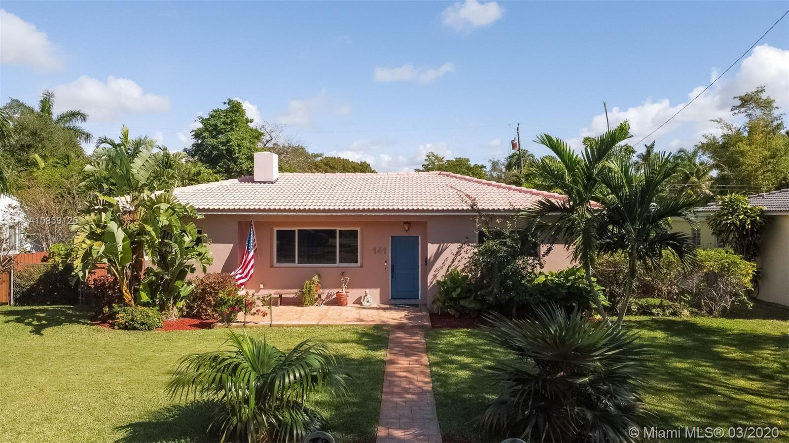 MIAMI SHORES POOL HOME ON A QUIET NO-THROUGH STREET.  BEAUTIFUL OUTDOOR ENTERTAINING SPACES, EASY TO