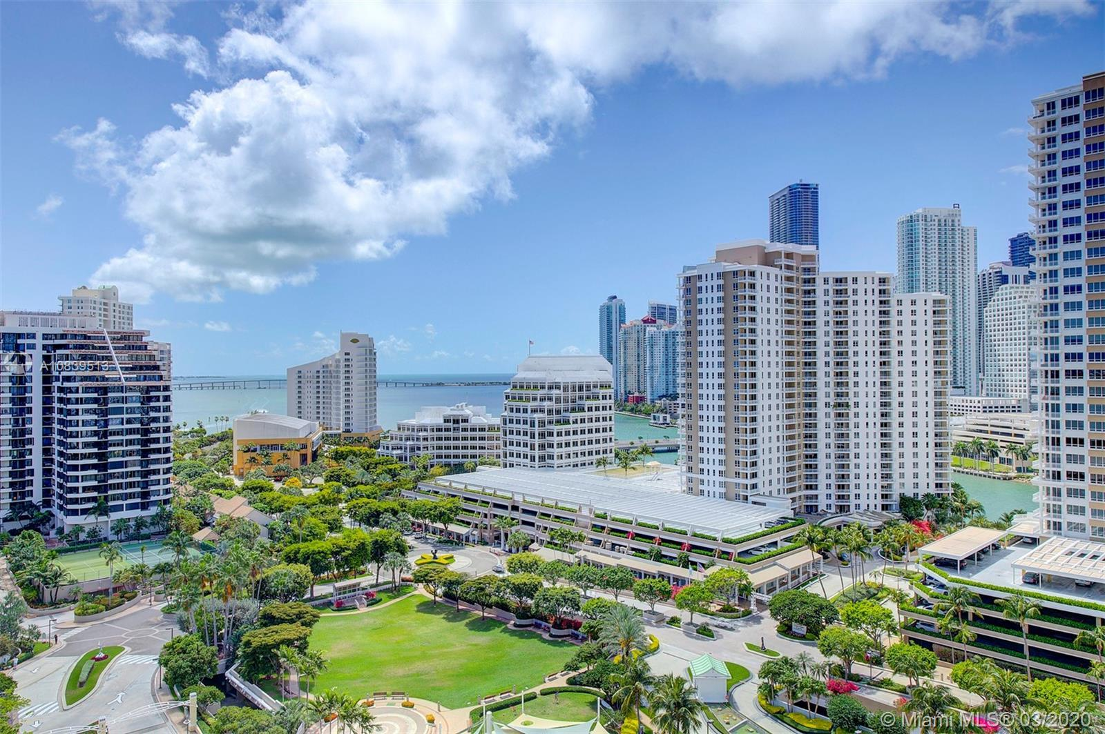 Spectacular ocean and city views, corner unit with private balconies. The ONLY UPGRADED 1 bedroom fo