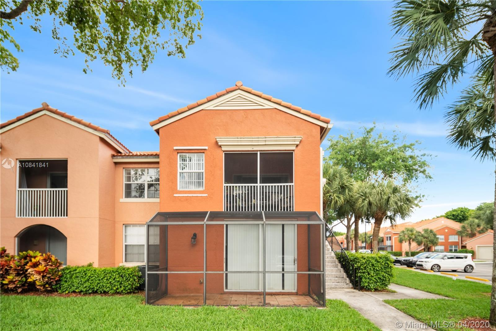Great opportunity to live in this ground floor corner unit located in Bocar Community. Amenities at