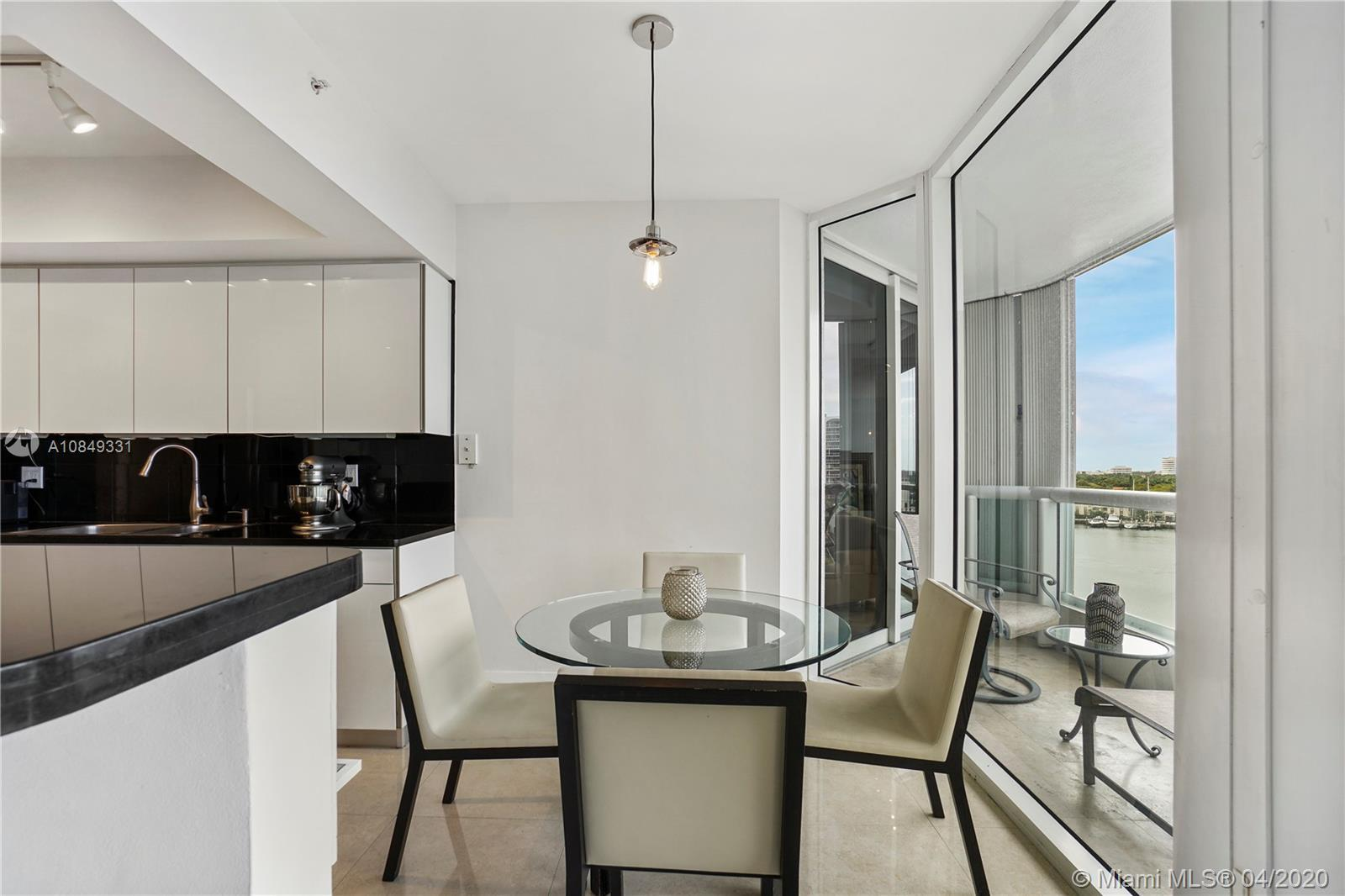 Renovated harbor view 2/2 residence in the luxurious South Tower at the Point Aventura. This mint co
