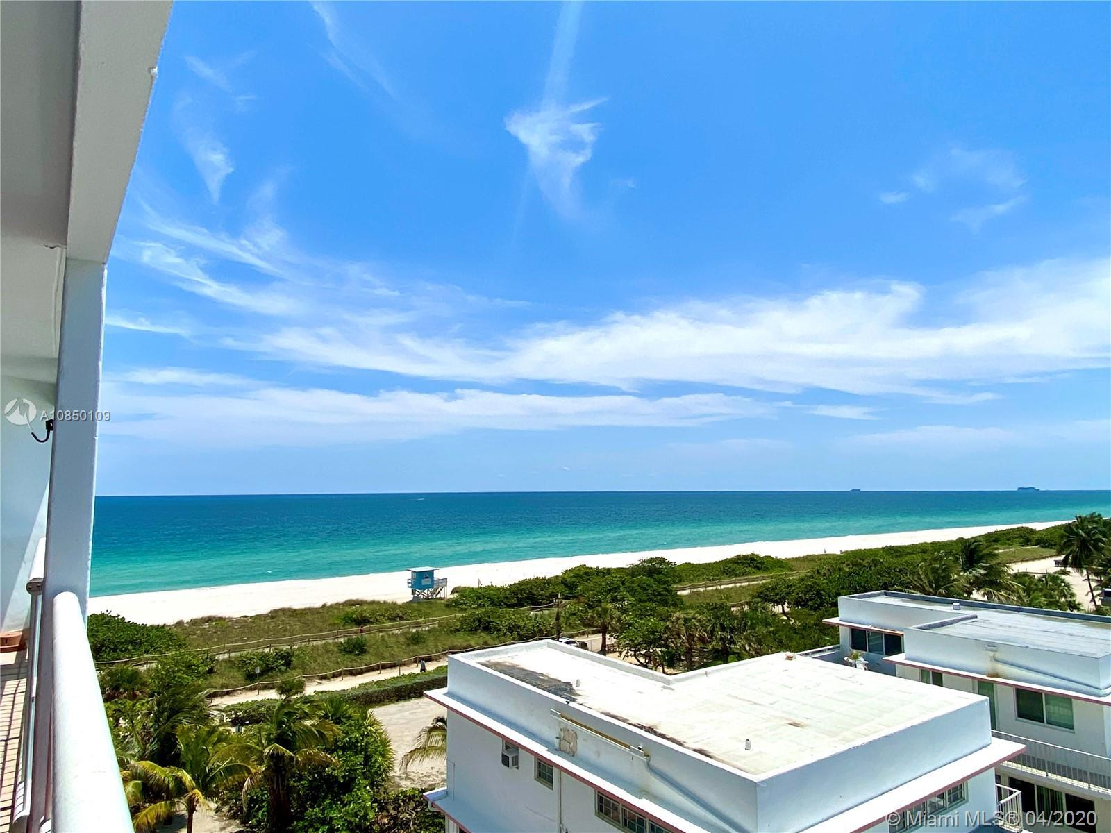 Enjoy beach living in this Surfside oceanfront boutique building with direct ocean and beach access.