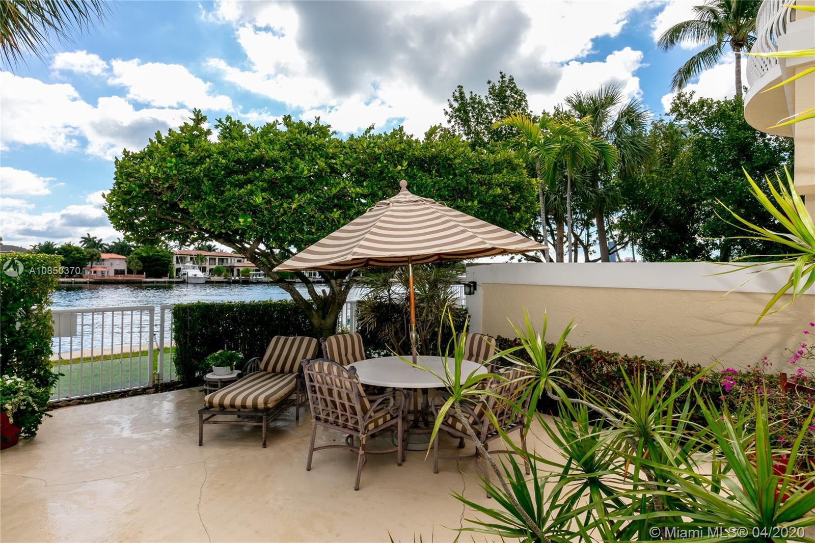 Located on the Intracoastal Waterway with prime water views, this townhouse offers a unique floor pl