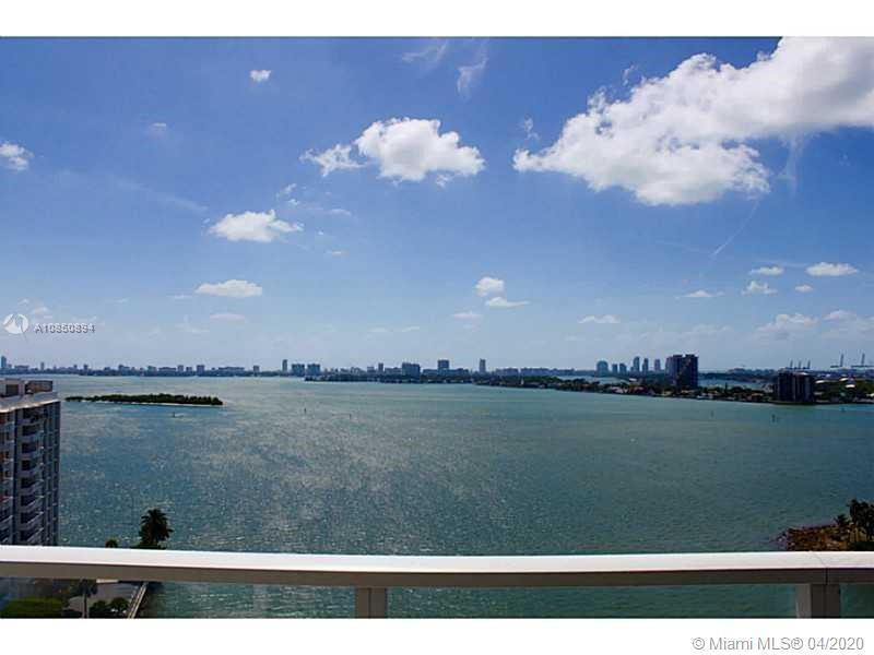 One of the most beautiful views in Miami. Ocean and city views. Located in the heart of Edgewater. M