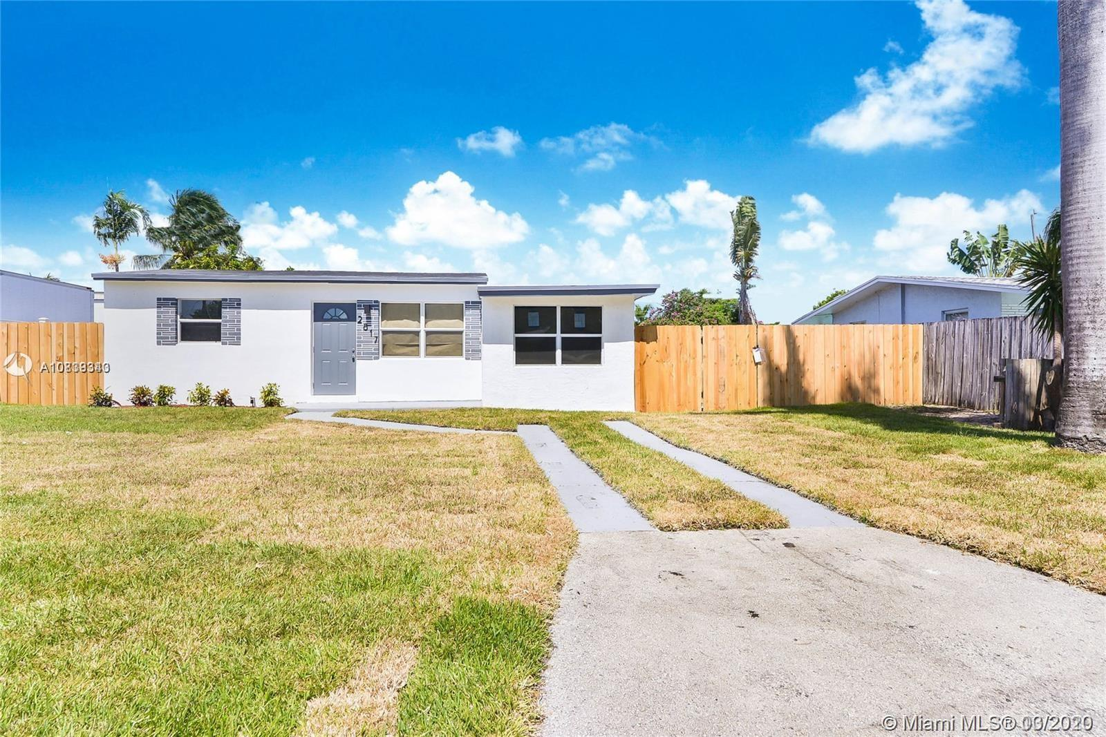 Completely Remodeled 3 bed 2 bath.. This property features a master suite with his and hers closets