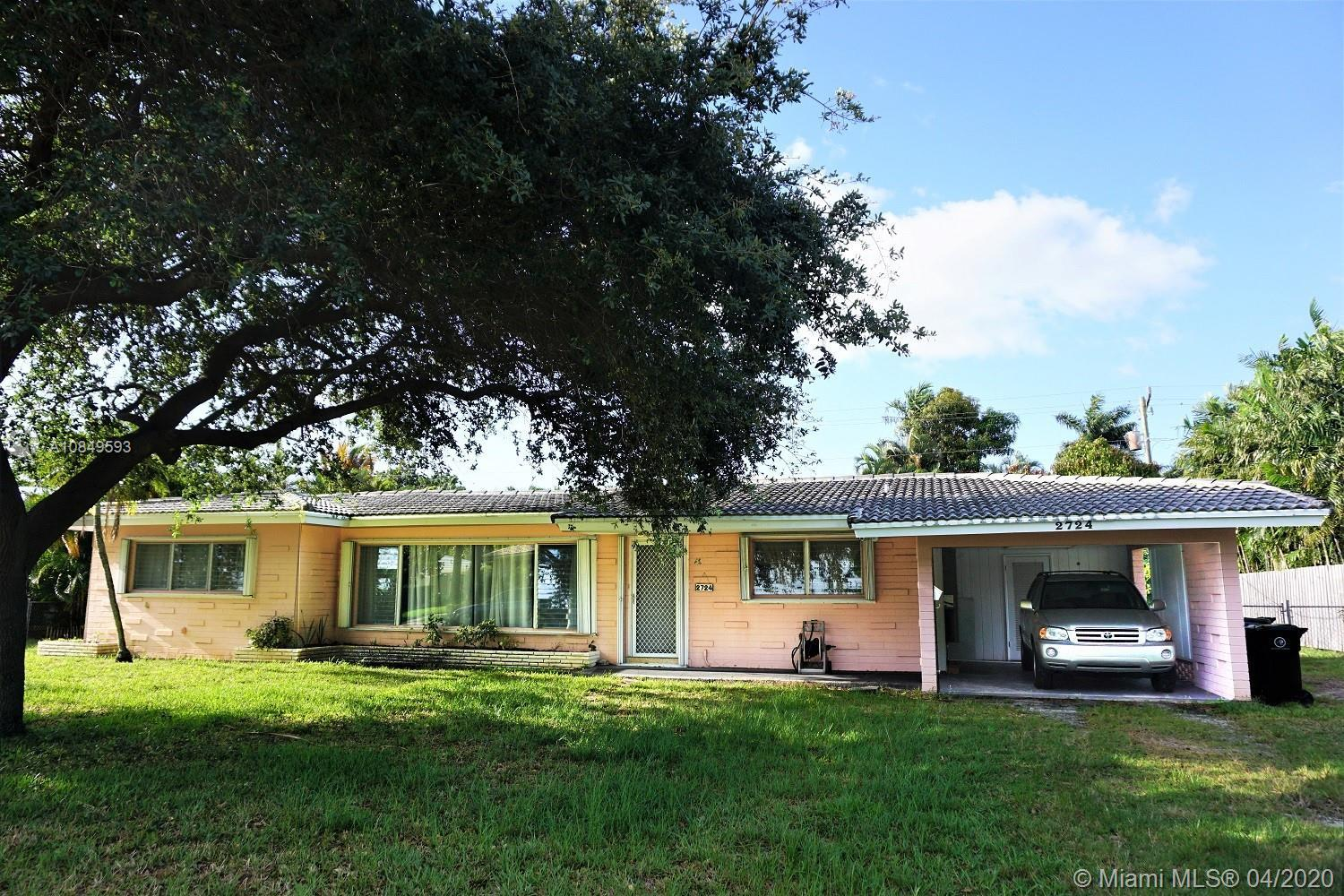 Great opportunity to own a home in Coral Ridge, one of Fort Lauderdale's most prestigious neighborho