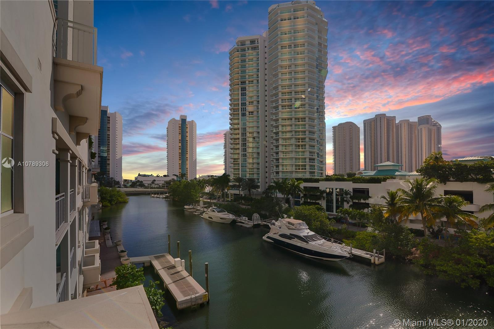 Immaculate Townhouse at the St Tropez Sunny Isles. This large 4 bedroom, 3 1/2 bathrooms Residence w