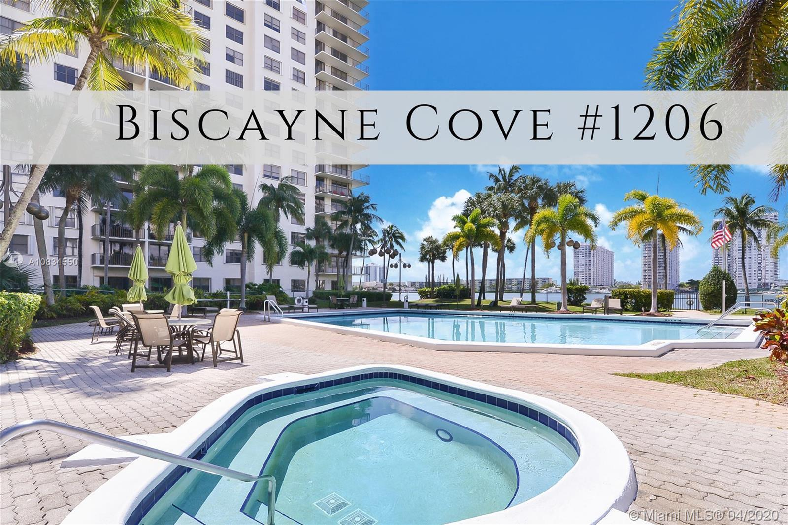 AVENTURA! Spectacular water views, from one of the largest 2 Bedroom floorplans in the building! Thi