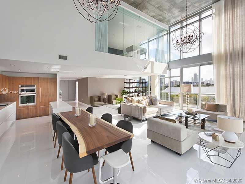 This Penthouse offers a unique 1,855 SF Terrace with direct access to pool. Is one of the largest pe