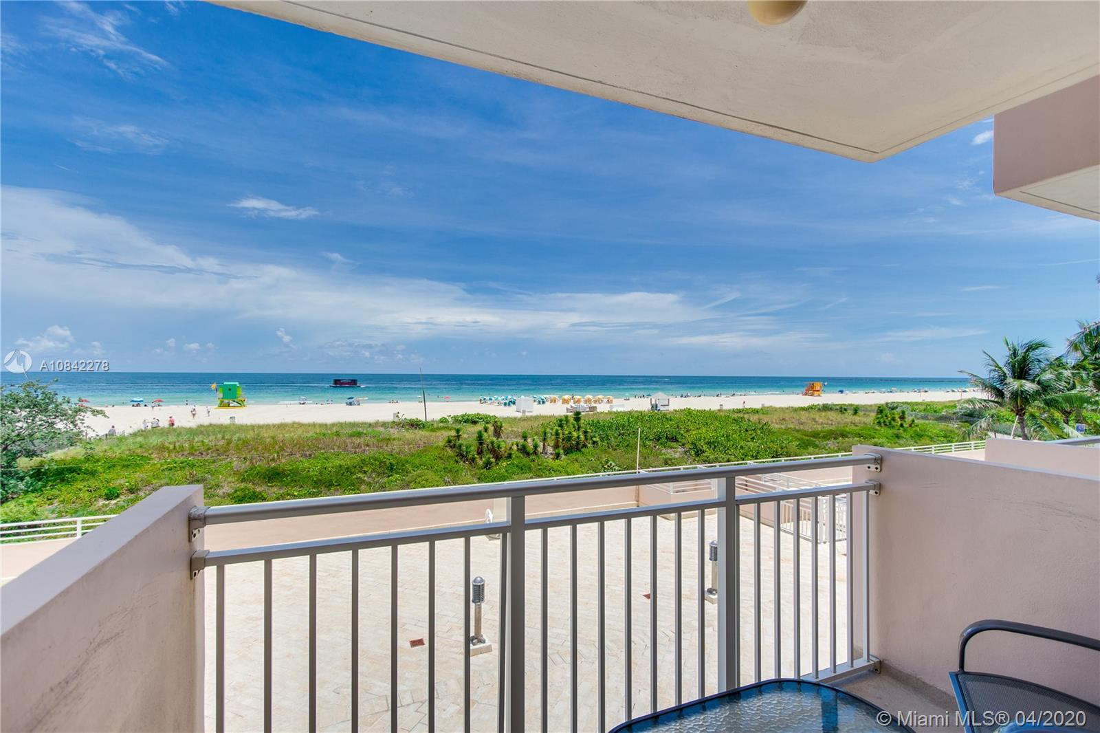 Direct Ocean East facing unit! Rarely available sitting right on the sand with direct ocean view fro