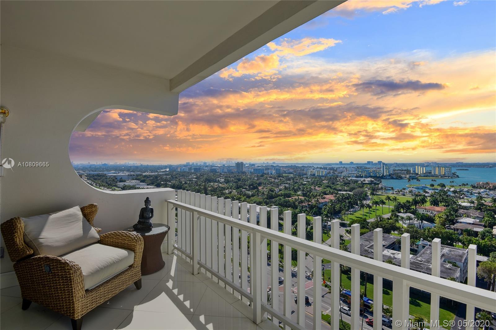 A rare find on the sand in the prestigious Kenilworth of Bal Harbour, with the most captivating pano