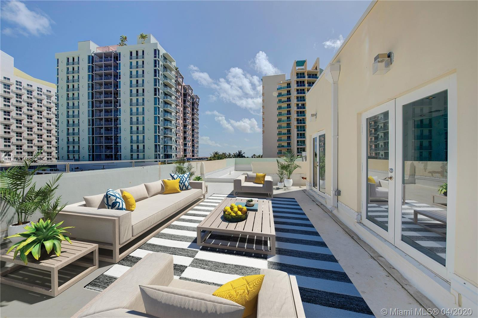 Rarely available, Ocean Drive South Beach 3 bed 2.5 bath brand new completely gut renovated from the