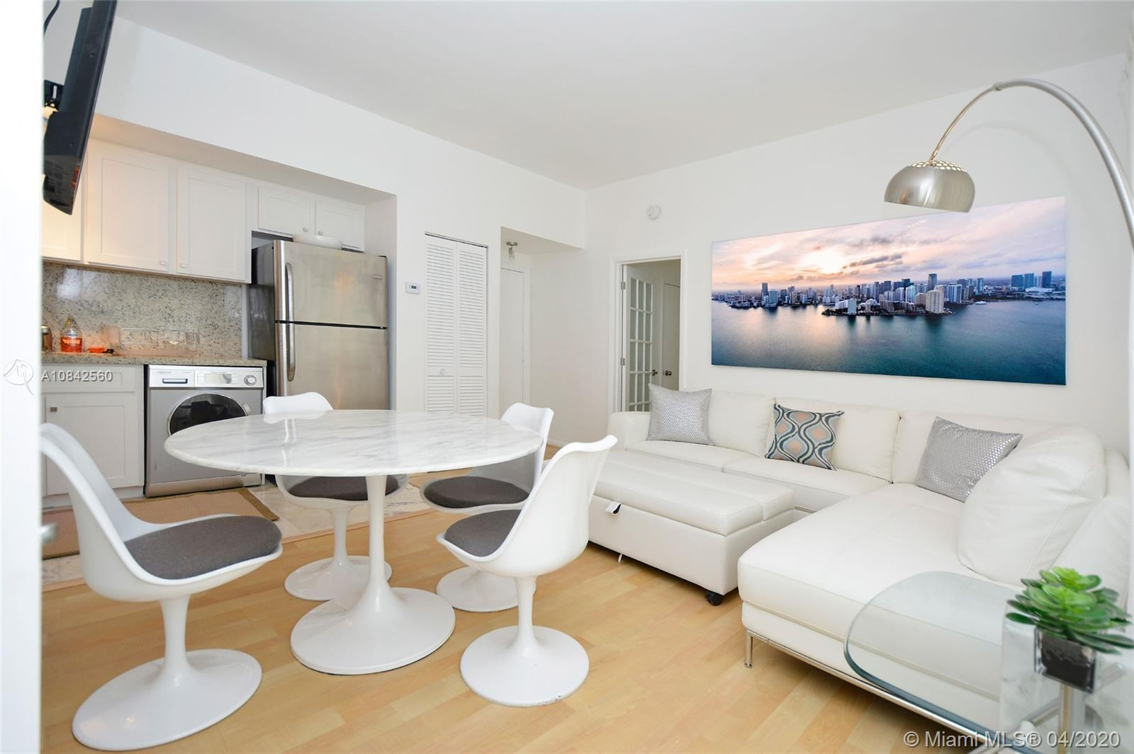 Perfect renovated 2 Bed / 2 Bath unit in the heart of South Beach. This a corner unit with large win