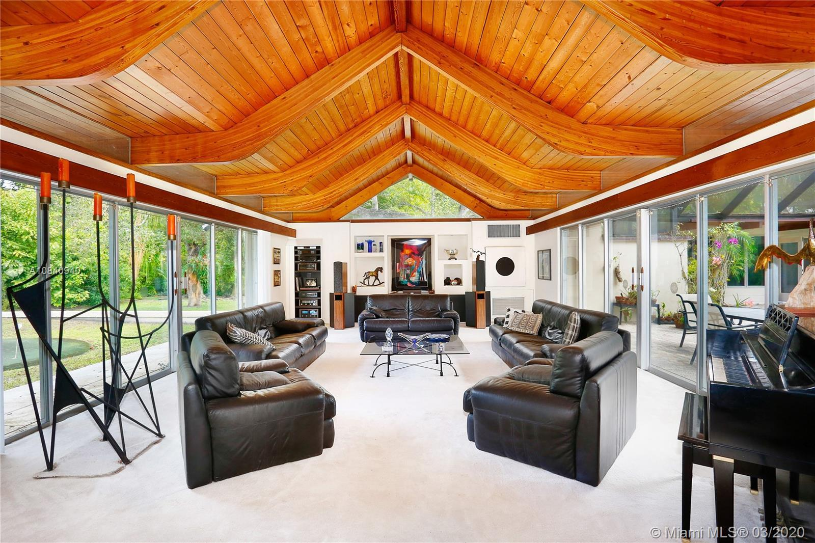 $220 a square foot! If you are looking for something special, this mid-century home will inspire you