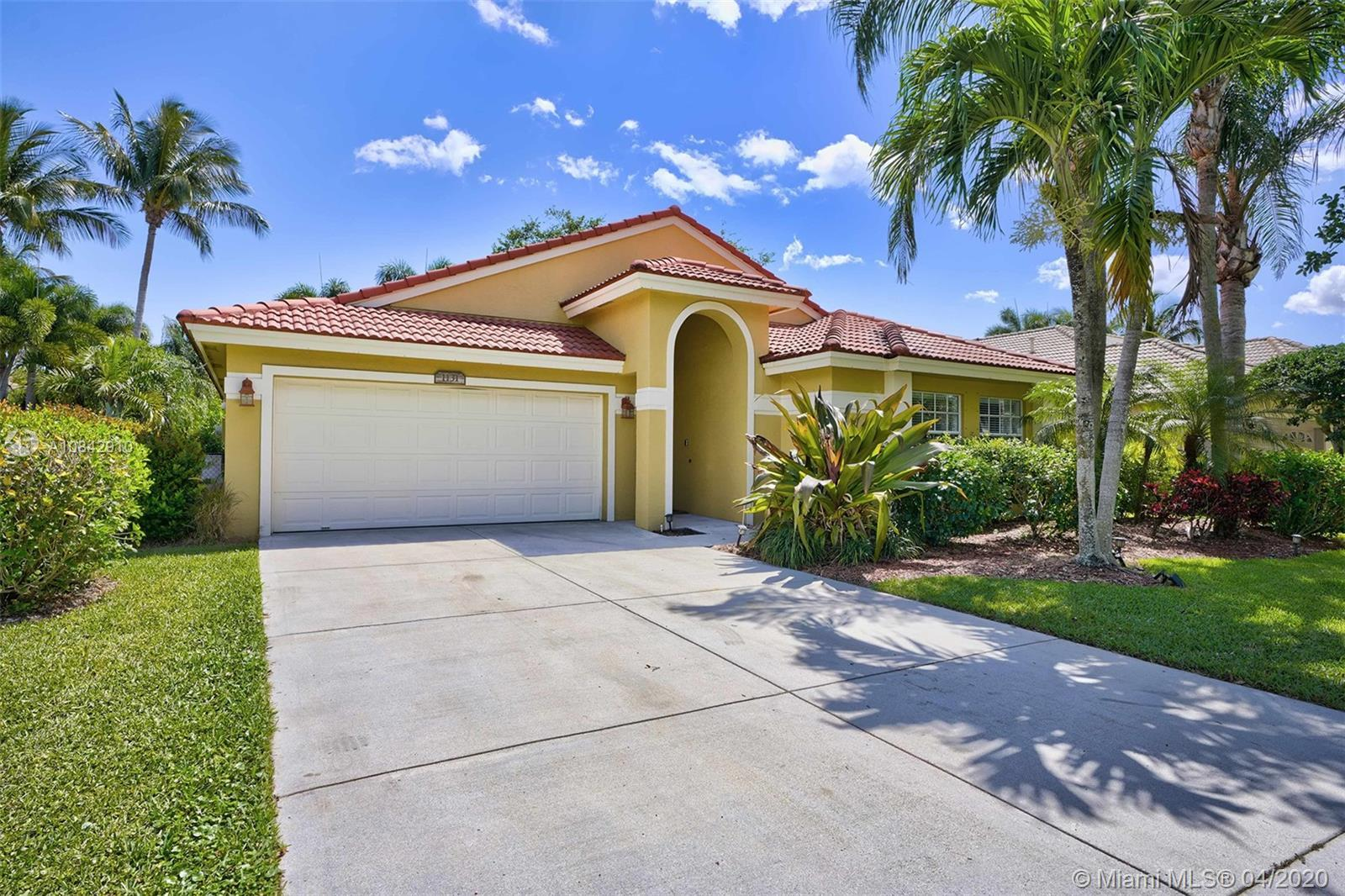 Spacious single-story, pool home in sought after Egret Landing!  Conveniently located with amenities