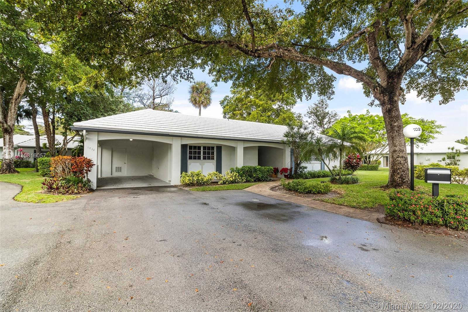 Beautiful remolded villa located in Cypress Estates inside Palm Aire Country Club. This villa is all
