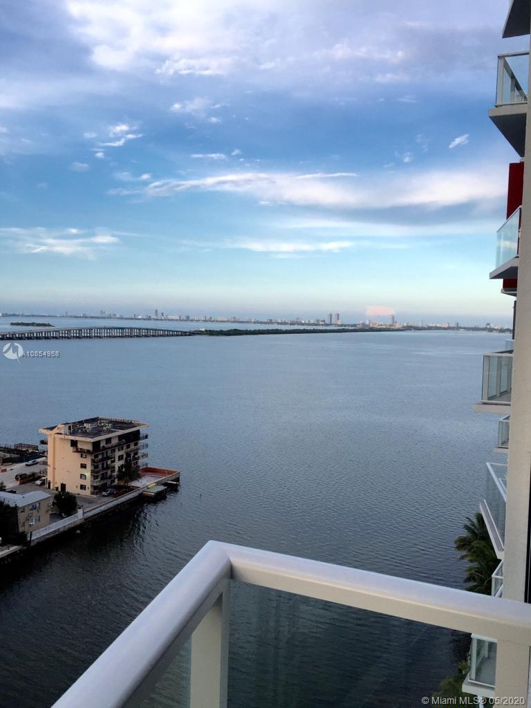 Amazing views of Biscayne Bay. Unit features include Italian cabinets, Bosch SS Appliances, Porcelai
