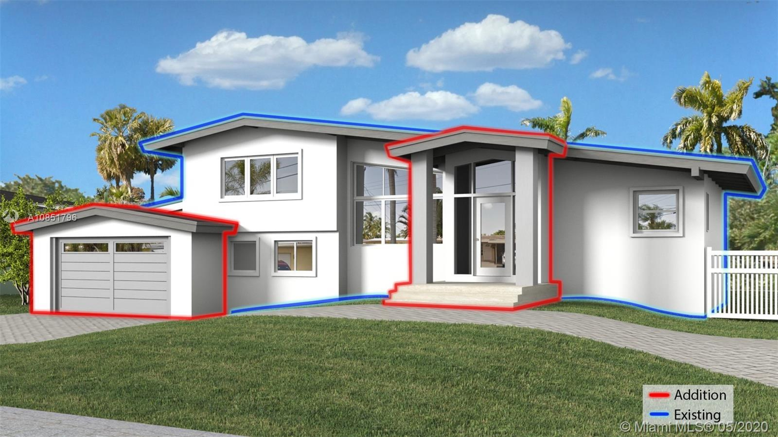 """Rare opportunity to own the deluxe model home in Lauderdale Isles. King size """"double lot"""" with glist"""