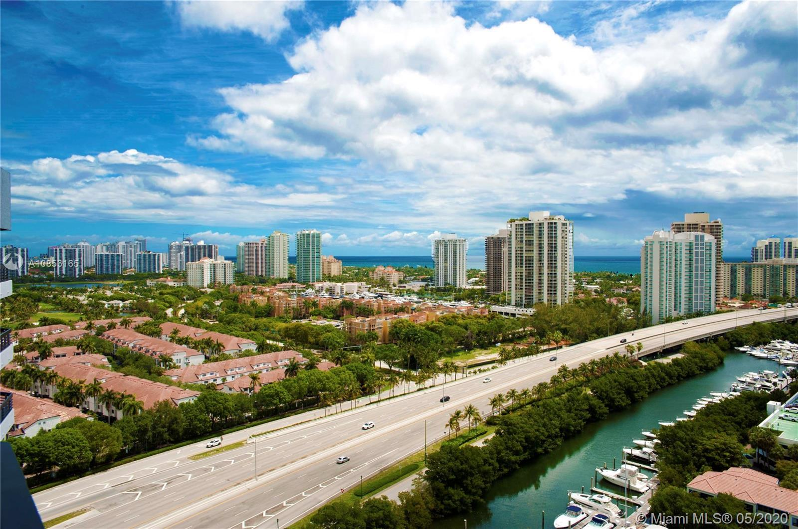 Penthouse living at its best at the heart of Aventura. Fabulous Ocean and Intracoastal views on this