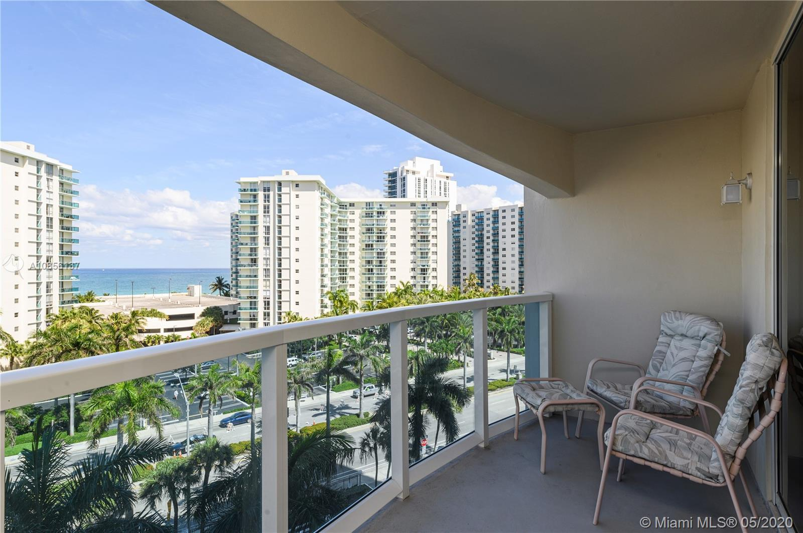 FULLY RENOVATED 2 BEDROOM 2 BATHROOM CONDO WITH PARTIAL OCEAN VIEWS IN THE INTRACOASTAL-FRONT RESORT