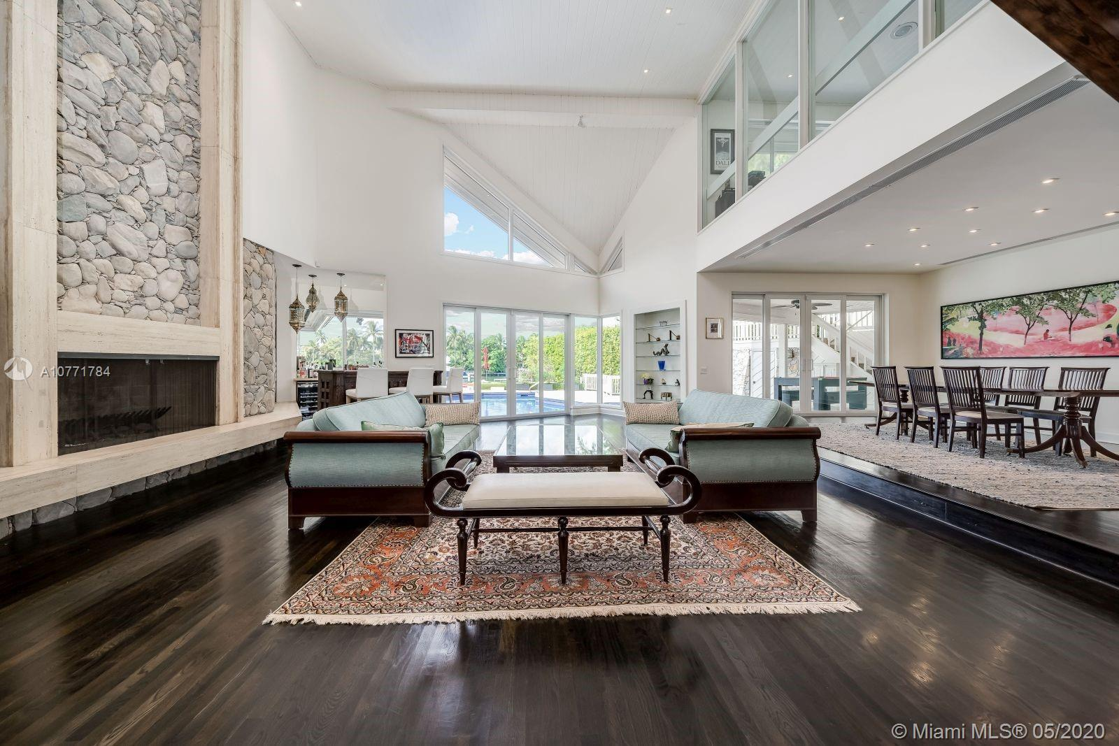 Architecturally important. Designed by Barry Sugarman with his inimitable flair. 25' ceilings, large