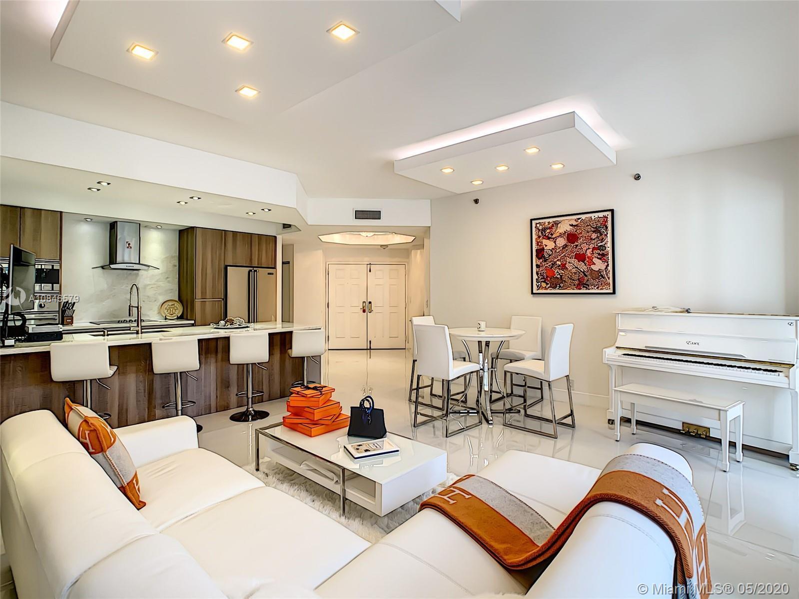 5-Star resort living in the prestigious Williams Island. The stunning, renovated unit encompasses 3