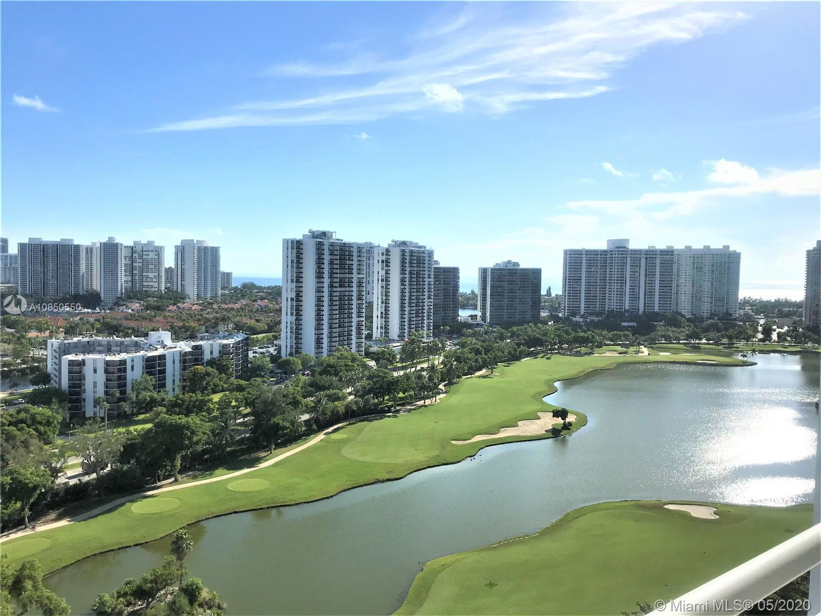 CORNER UNIT! Expansive views of Turnberry Golf course and city sky line. This unit has beautiful til