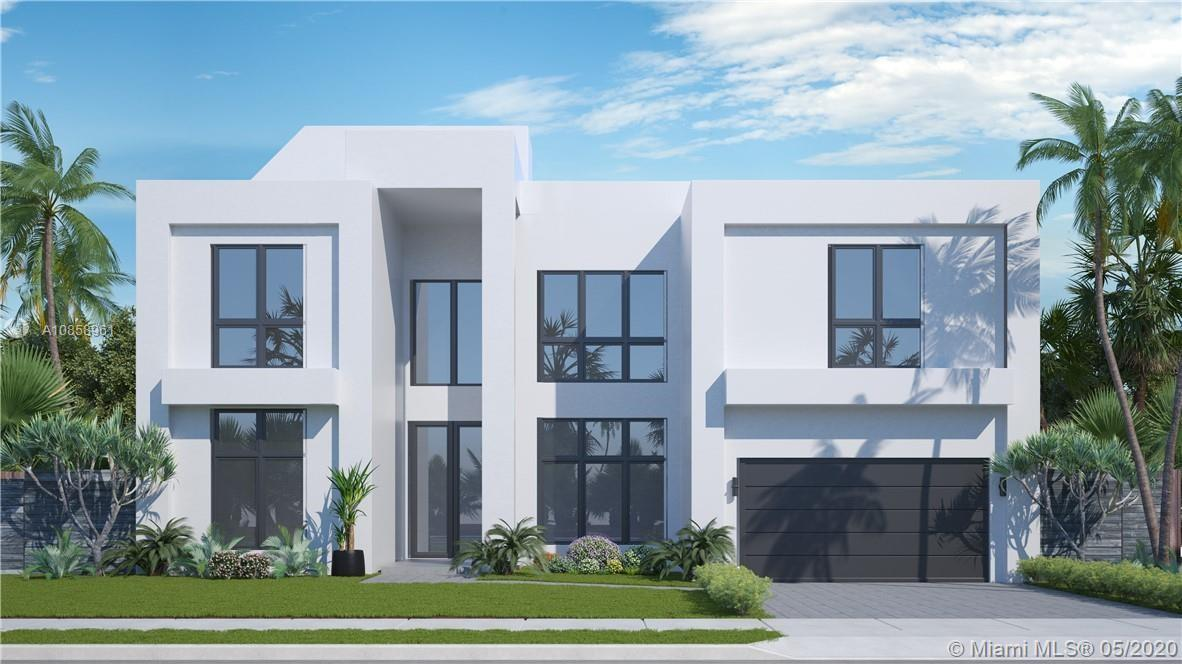 NEW contemporary elegant saltwater pool home on a private street located minutes from the beach. Liv