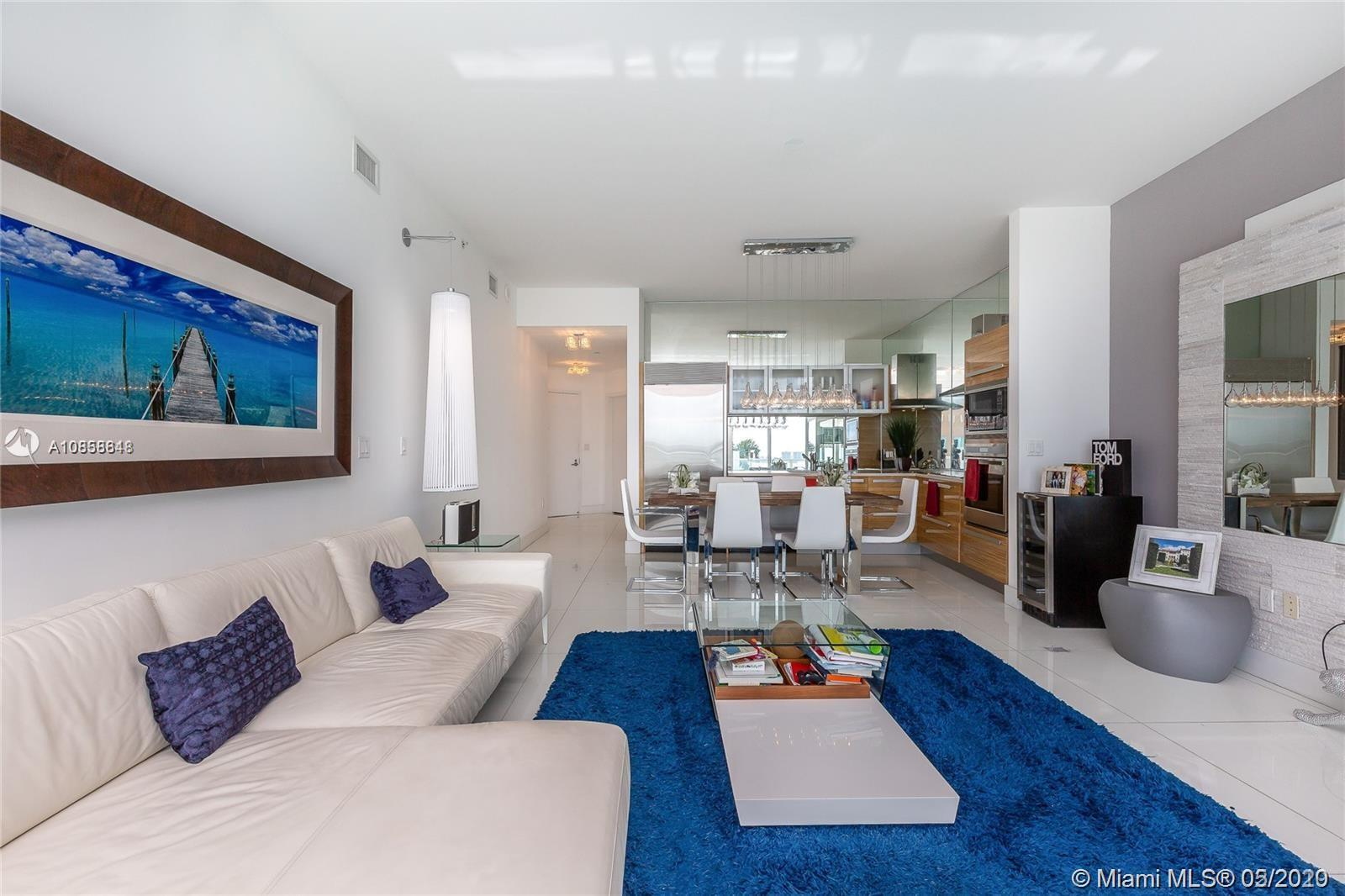 Beautiful 2 bedrooms, 2 bathrooms unit with over $100k in upgrades at Paramount Bay. Tastefully furn