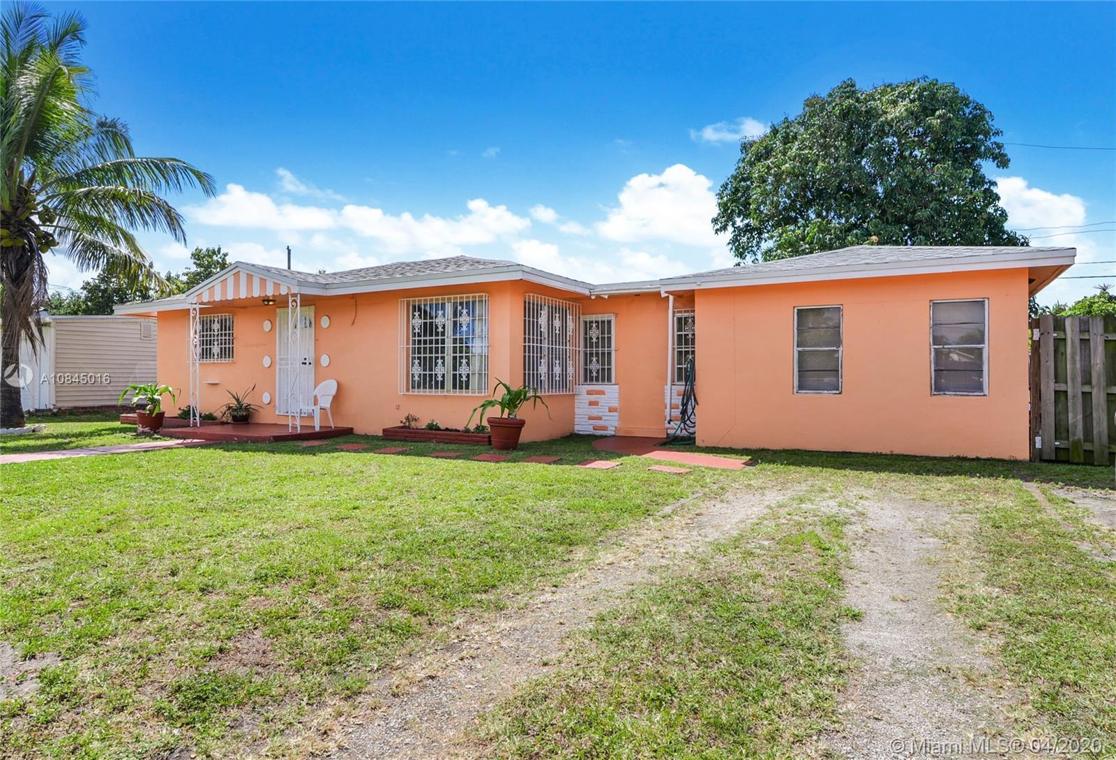 Great Starter Single Family Home with NO association and a Very Generous Lot. Stop renting, and own