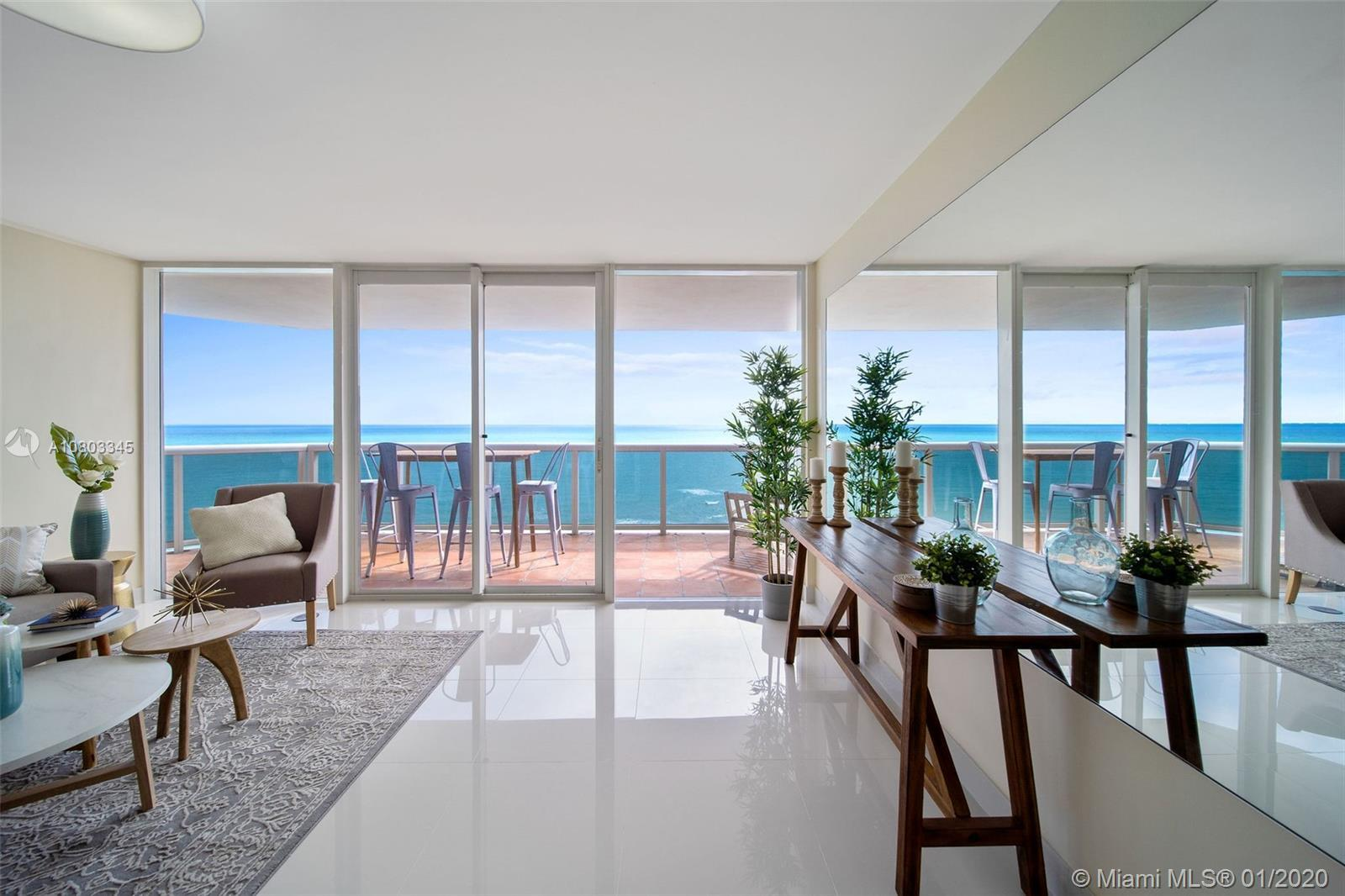 Welcome to your condo palace on the beach! Each remodeled room has views of turquoise Atlantic Ocean