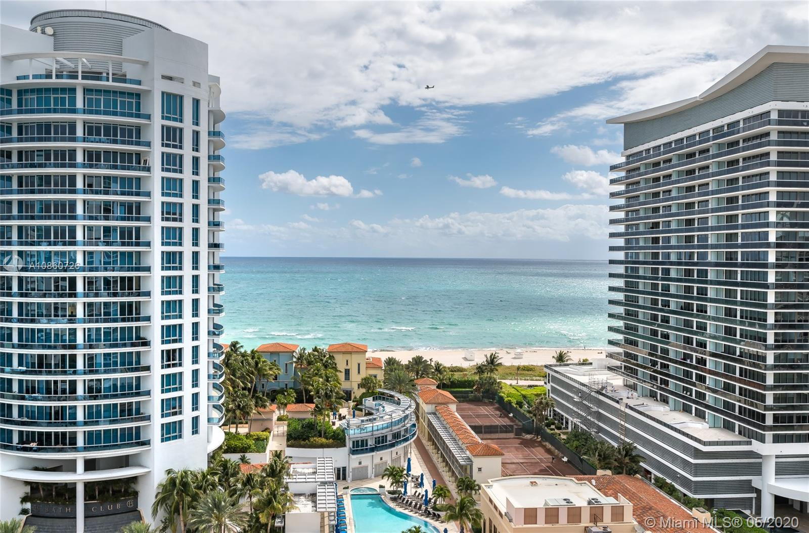 Direct Ocean view apartment from every single room! Completely remodel Apartment features 2 bedroom