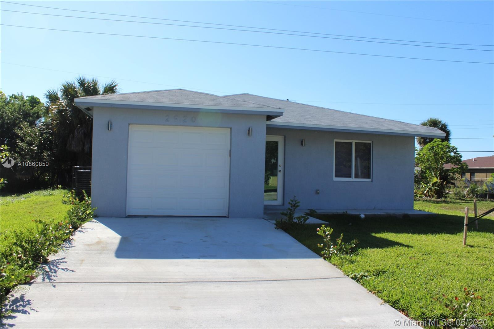 BRAND NEW HOME 4 BEDROOM 2 BATH WITH 1 CAR GARAGE, LOTS OF UPGRADES, STAINLESS STEEL KITCHEN APPLIAN