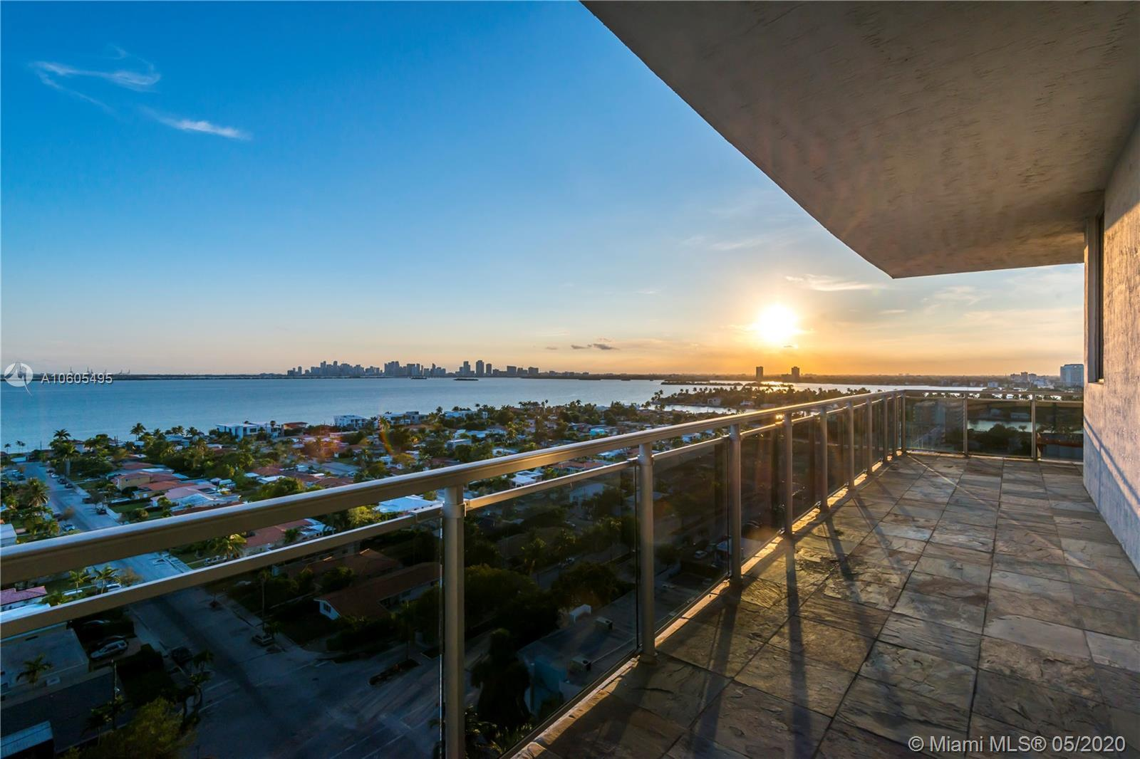 Contemporary meets elegance; this unit truly has it ALL! Boasting 1,753 square feet, this high-floor