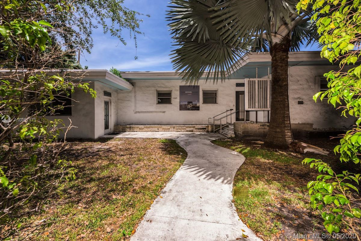 Totally unique corner property in the heart of South Beach. **Zoned for Commercial Office & Resident