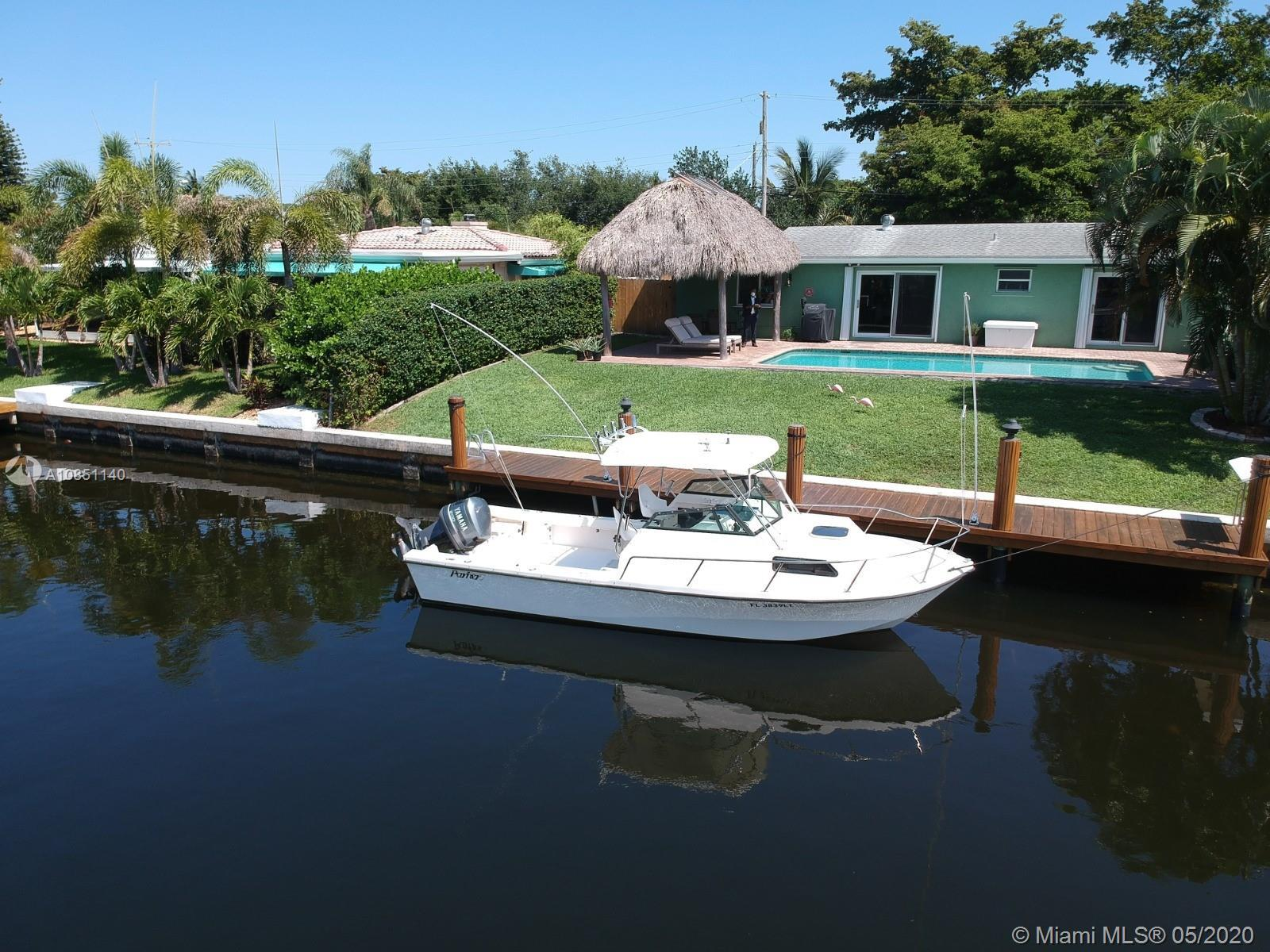 Boaters dream home! Perfectly priced with breathtaking water views and your own luxury dock for fish