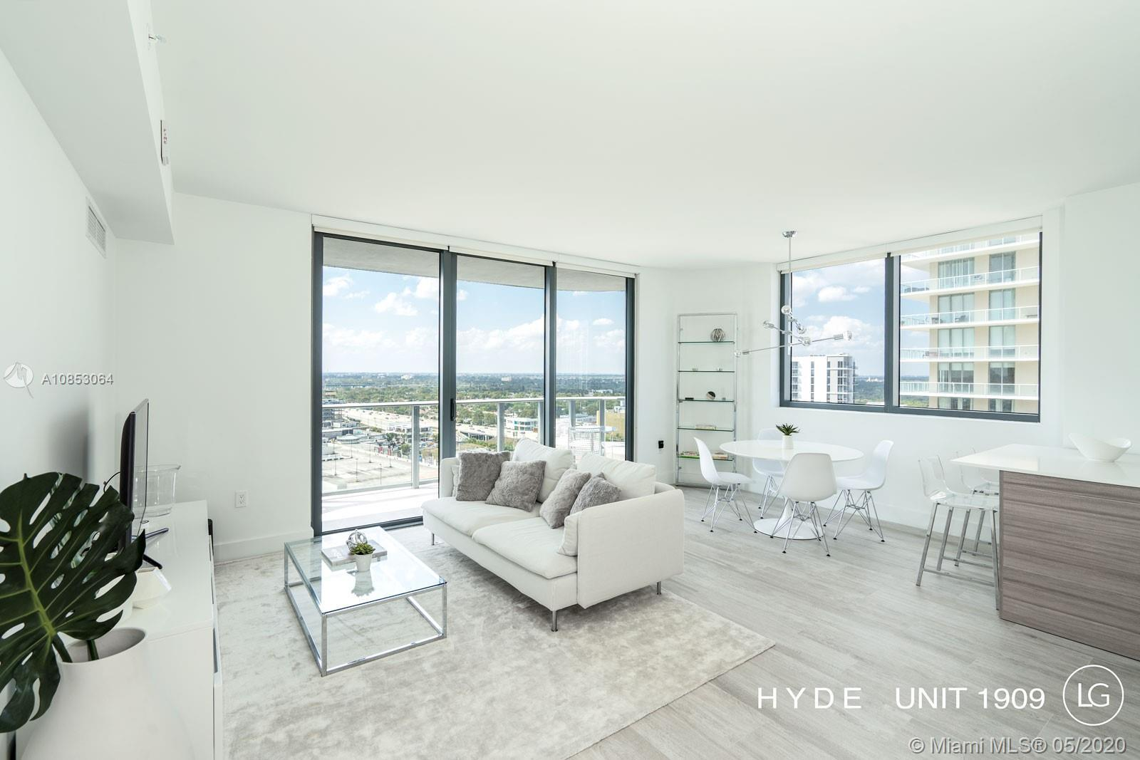 Tastefully Furnished 2BD / 2BA corner apartment in highly desired Hyde Suites & Residences in Midtow
